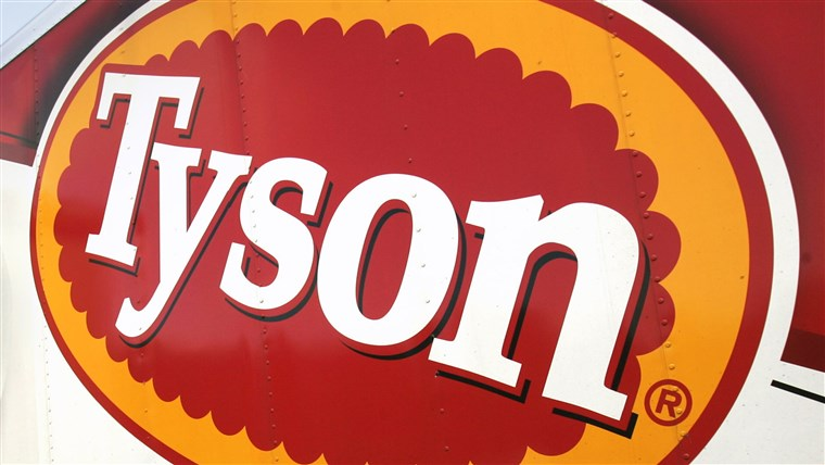 Tyson Foods is recalling 3,120 pounds of chicken for possible plastic contamination.