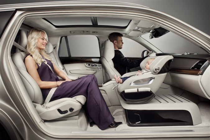 Volvo's new child-safety-seat concept