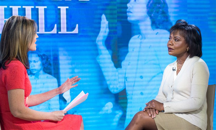 Savannah Guthrie interviews Anita Hill