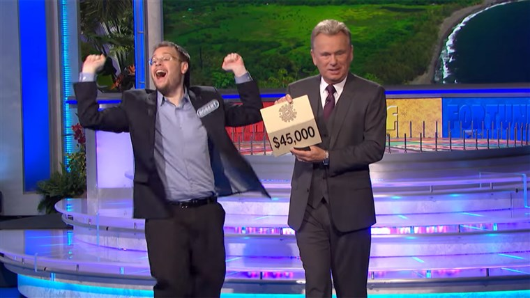 Robert Santoli couldn't help himself from winning big, even if Pat Sajak hoped he would tone it down.