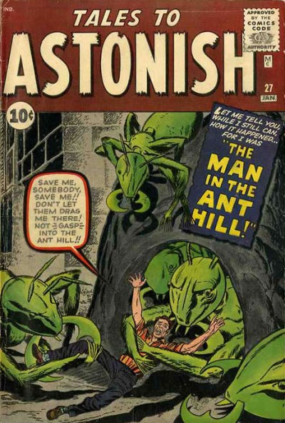 Contos to Astonish #27, 1962