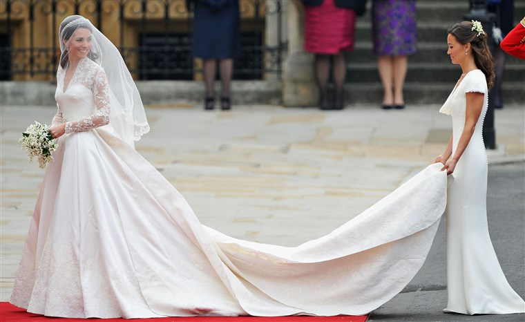 Imagem: Image: Royal Wedding - Wedding Guests And Party Make Their Way To Westminster Abbey
