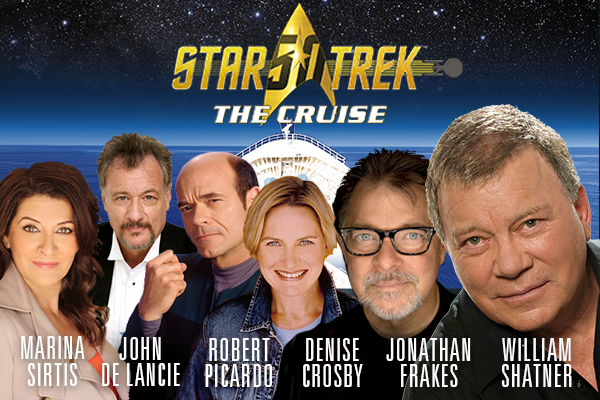 Ster Trek: The Cruise will set sail with William Shatner and other actors from the franchise in 2017