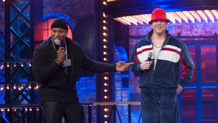 Willie Geist on Lip Sync Battle