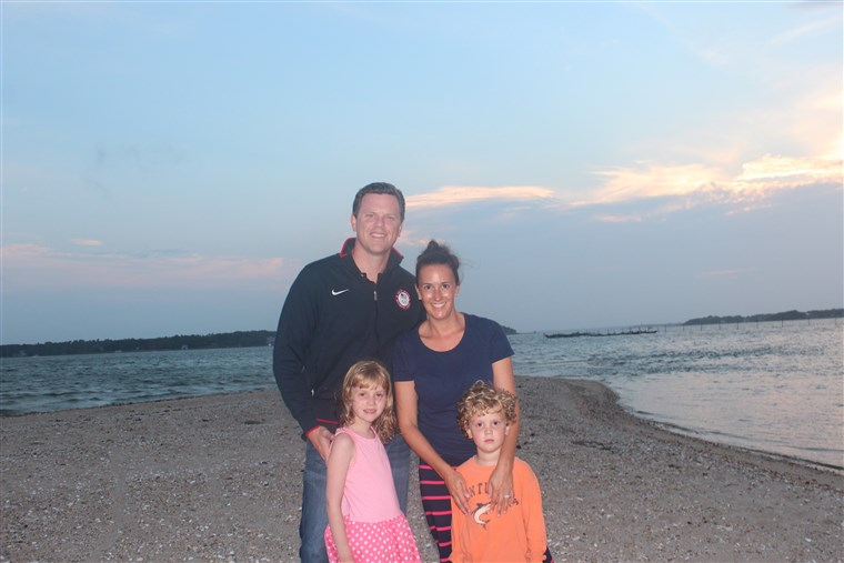 Willie Geist and his family.